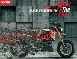 NOUVELLE DORSODURO 900 : LA MOTO FUN PAR EXCELLENCE